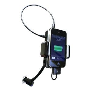 iPhone&iPod FMトランスミッター with リモコン