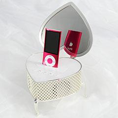 iHeart Jewelry Box Speaker for iPod