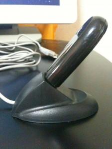 USBアダプタ刺した所
