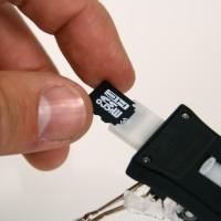 microSDリーダーモード