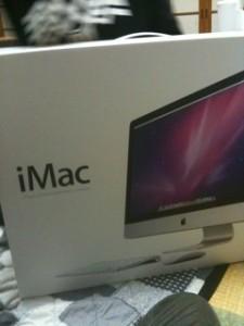 iMac27インチ