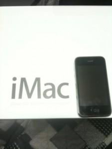 iMac27インチとiPhone